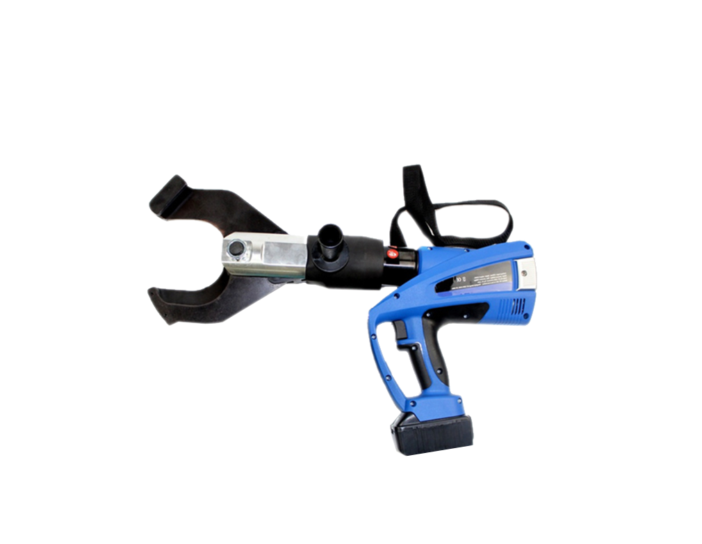Electric Cable Cutting Tools Hydraulic Battery Powered Cable Cutter BZ-85C