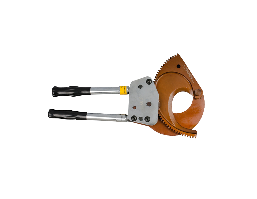 J-100 High Strength Durable Ratchet Cable Cutter for Cu&Al&Armored Cables
